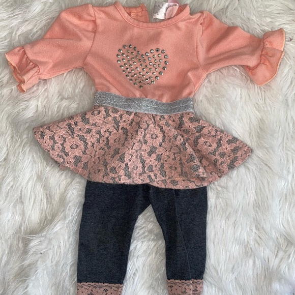 Little Lass two piece outfit